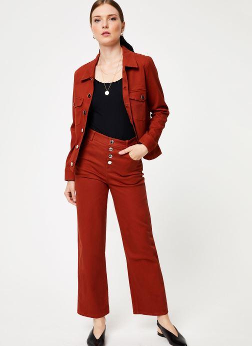 Vêtements Marie Sixtine JACKET ALEX Orange vue bas / vue portée sac