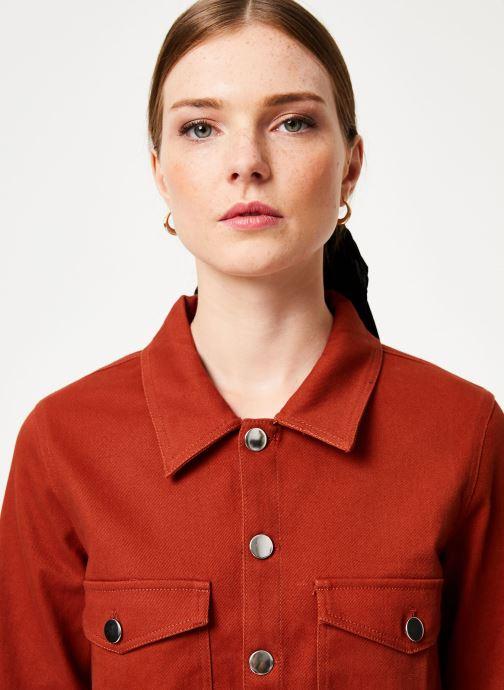 Vêtements Marie Sixtine JACKET ALEX Orange vue face