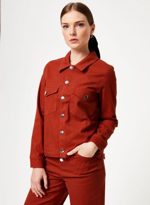 Vêtements Marie Sixtine JACKET ALEX Orange vue droite