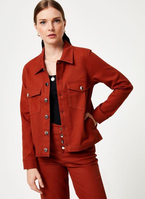 Vêtements Marie Sixtine JACKET ALEX Orange vue détail/paire