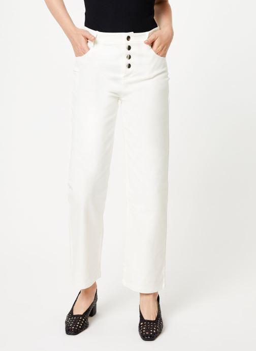 Vêtements Marie Sixtine PANTS ANDREA Blanc vue détail/paire