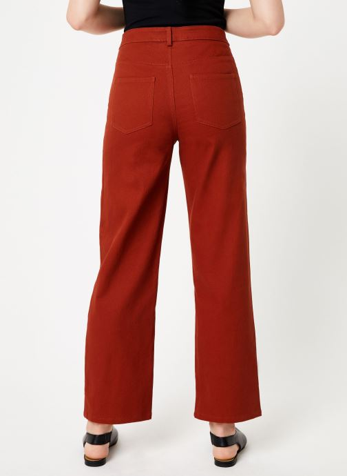 Vêtements Marie Sixtine PANTS ANDREA Orange vue portées chaussures