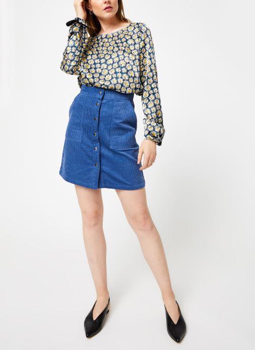 Vêtements Marie Sixtine BLOUSE ANGIE Bleu vue bas / vue portée sac