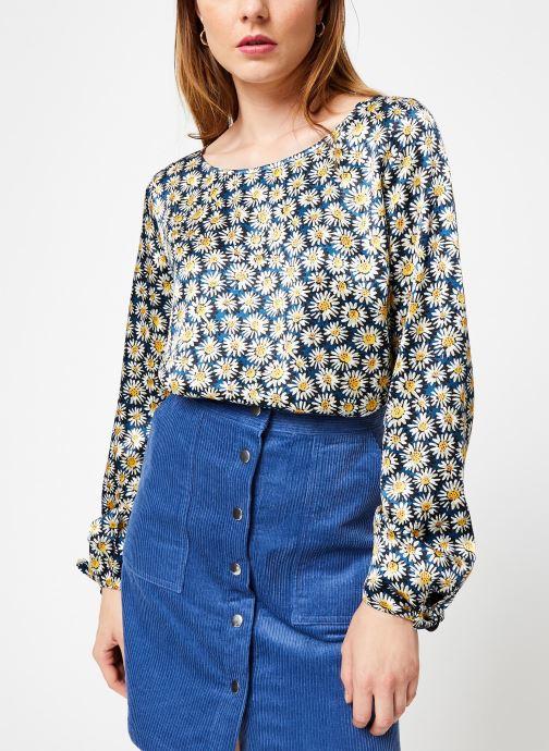 Vêtements Marie Sixtine BLOUSE ANGIE Bleu vue détail/paire
