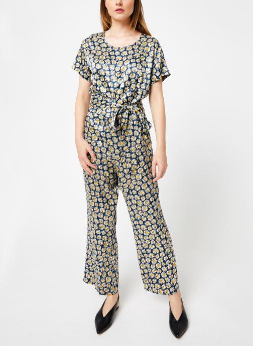 Vêtements Marie Sixtine JUMPSUIT GABOR Bleu vue bas / vue portée sac