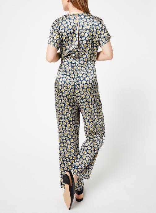 Vêtements Marie Sixtine JUMPSUIT GABOR Bleu vue portées chaussures