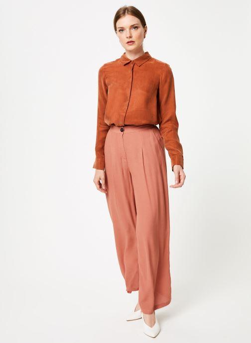 Vêtements Marie Sixtine PANTS LEO Rose vue bas / vue portée sac