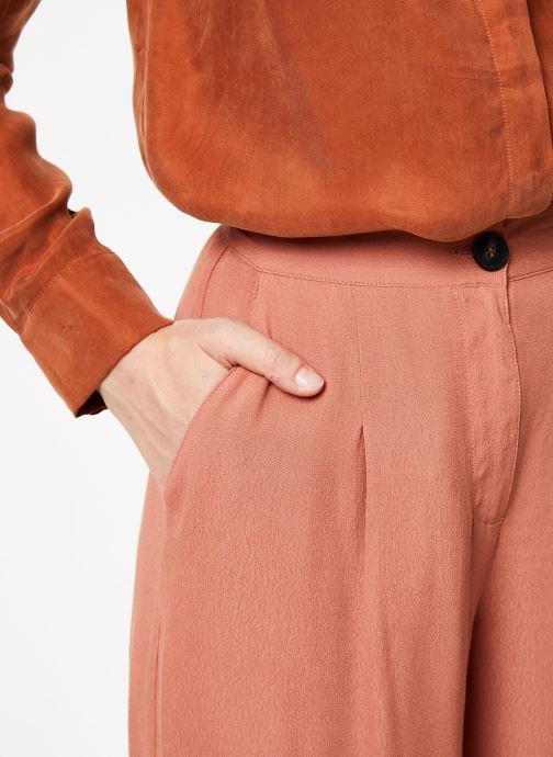 Vêtements Marie Sixtine PANTS LEO Rose vue face