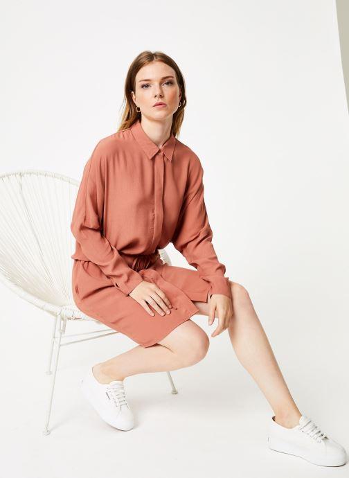 Vêtements Marie Sixtine DRESS MAROU Rose vue bas / vue portée sac