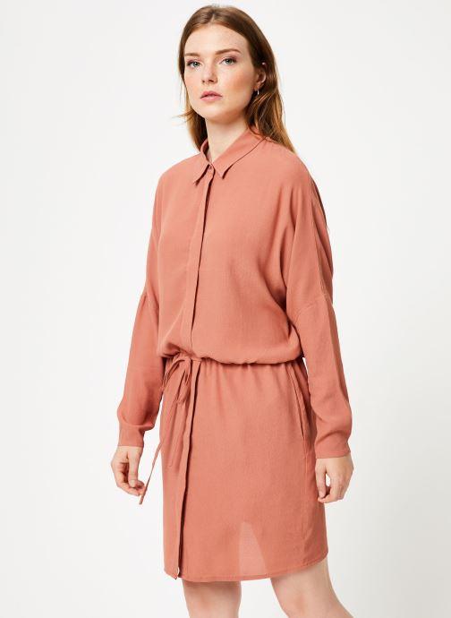 Vêtements Marie Sixtine DRESS MAROU Rose vue droite