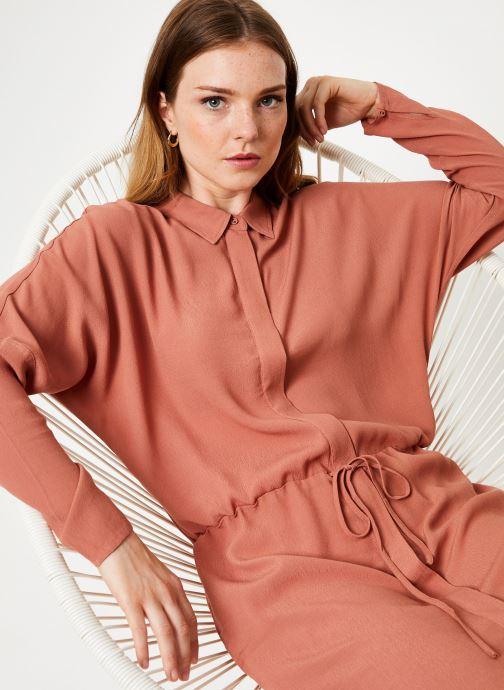Vêtements Marie Sixtine DRESS MAROU Rose vue détail/paire