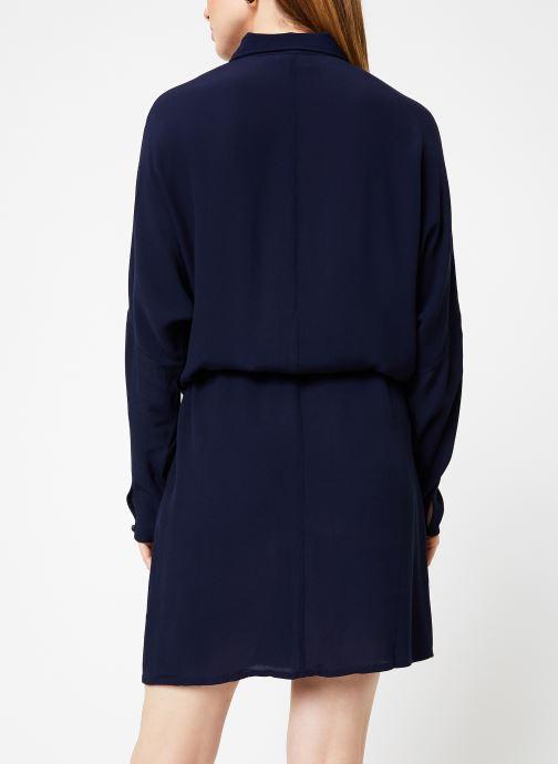 Vêtements Marie Sixtine DRESS MAROU Bleu vue portées chaussures