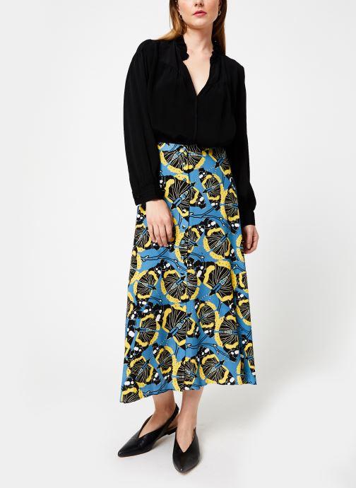 Vêtements Marie Sixtine SKIRT SALMA Bleu vue bas / vue portée sac