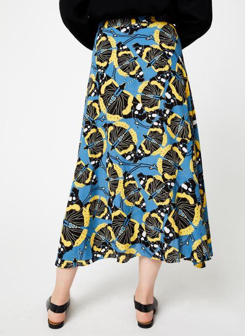 Vêtements Marie Sixtine SKIRT SALMA Bleu vue portées chaussures