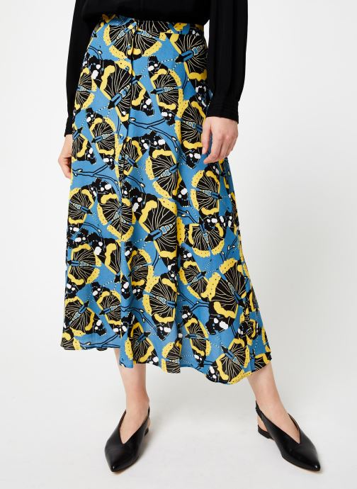 Vêtements Marie Sixtine SKIRT SALMA Bleu vue détail/paire