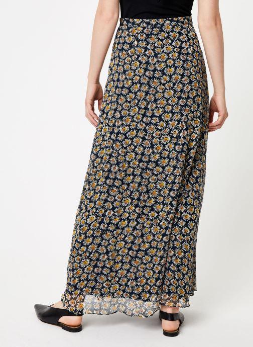 Vêtements Marie Sixtine SKIRT ATHENAIS Bleu vue portées chaussures