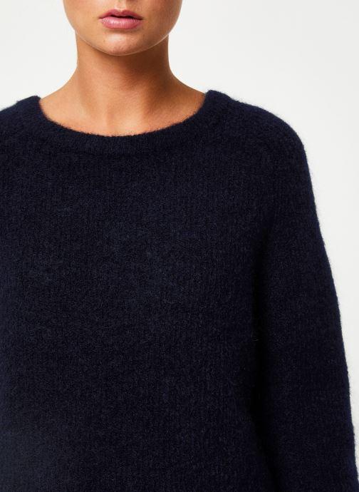 Vêtements Marie Sixtine SWEATER ELORA Bleu vue face