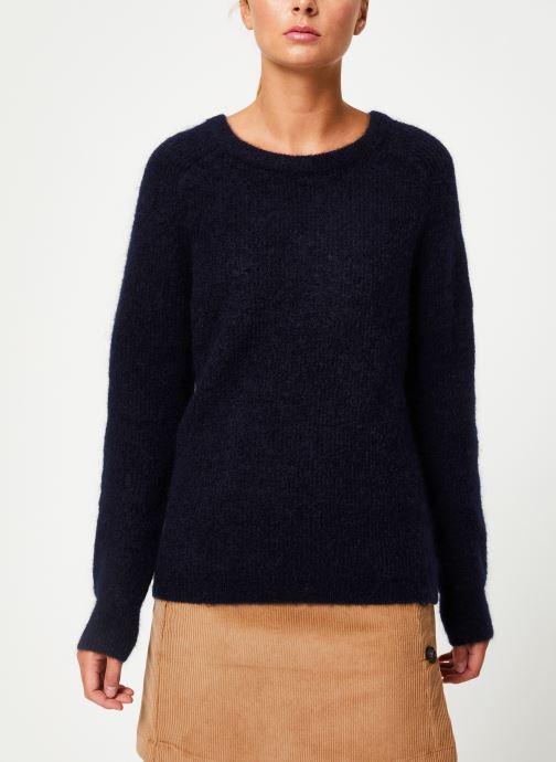 Vêtements Marie Sixtine SWEATER ELORA Bleu vue droite