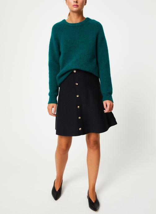 Vêtements Marie Sixtine SWEATER ELORA Vert vue bas / vue portée sac