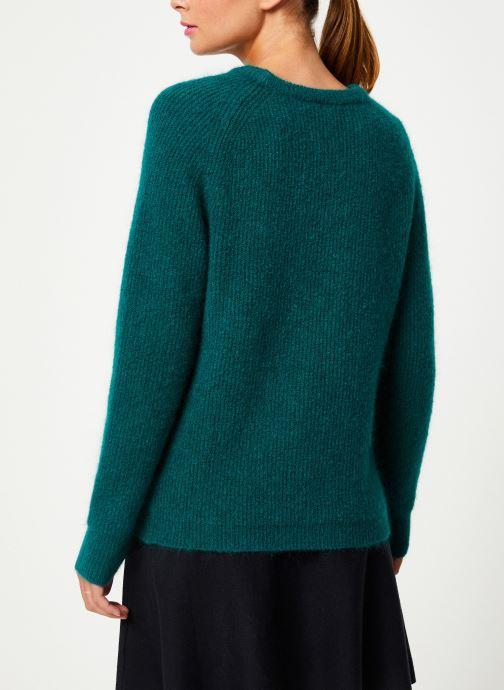 Vêtements Marie Sixtine SWEATER ELORA Vert vue portées chaussures