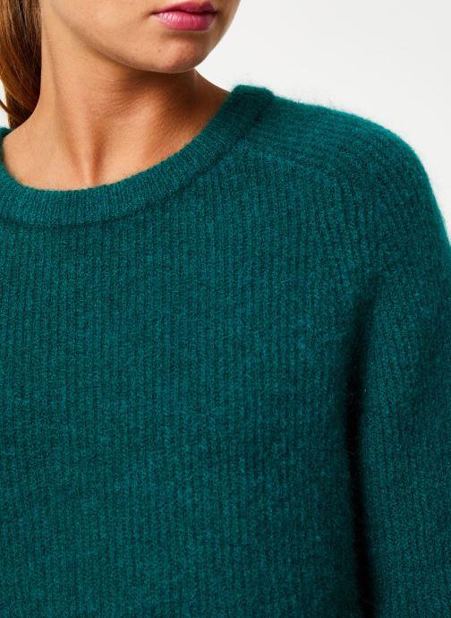 Vêtements Marie Sixtine SWEATER ELORA Vert vue face