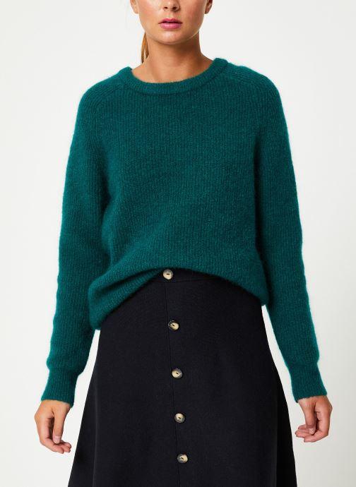 Vêtements Marie Sixtine SWEATER ELORA Vert vue droite