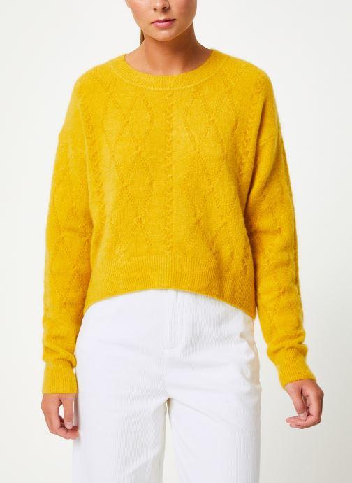 Vêtements Marie Sixtine SWEATER PAULETTE Jaune vue détail/paire