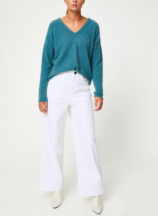 Vêtements Marie Sixtine SWEATER REMY Vert vue bas / vue portée sac