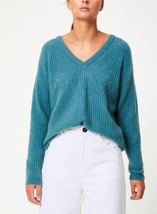 Vêtements Marie Sixtine SWEATER REMY Vert vue droite