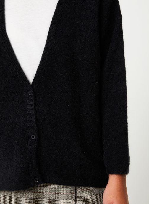 Vêtements Marie Sixtine CARDIGAN ELSA Noir vue face