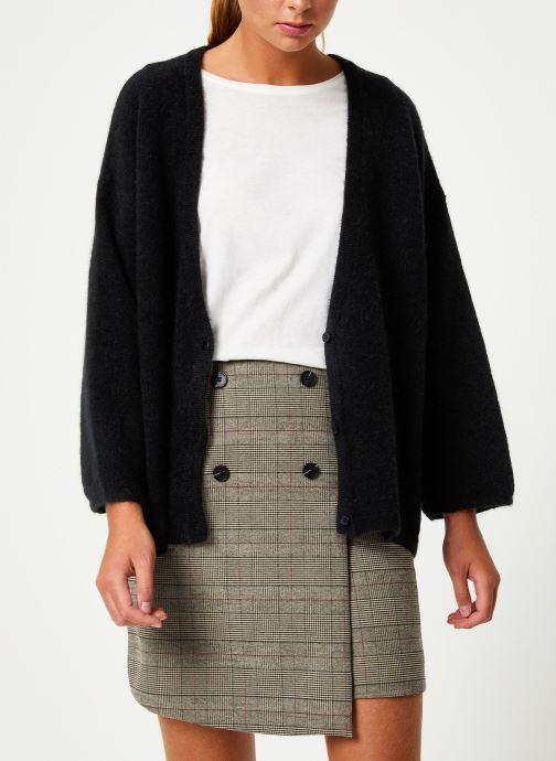 Vêtements Marie Sixtine CARDIGAN ELSA Noir vue droite