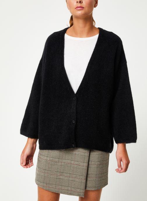 Vêtements Marie Sixtine CARDIGAN ELSA Noir vue détail/paire