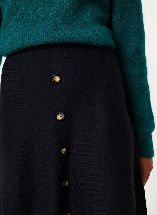 Vêtements Marie Sixtine SKIRT SOLINE Noir vue face