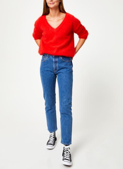 Vêtements Marie Sixtine SWEATER EDWARD Rouge vue bas / vue portée sac