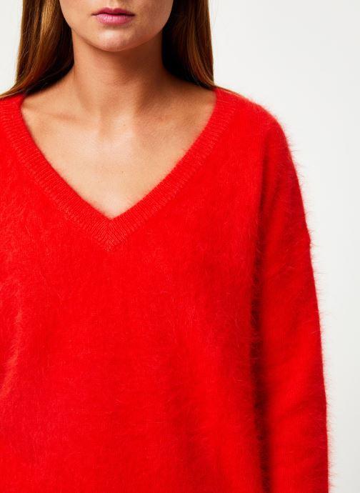 Vêtements Marie Sixtine SWEATER EDWARD Rouge vue face