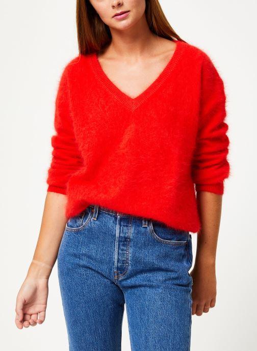 Vêtements Marie Sixtine SWEATER EDWARD Rouge vue droite