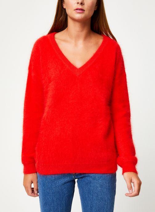 Vêtements Marie Sixtine SWEATER EDWARD Rouge vue détail/paire