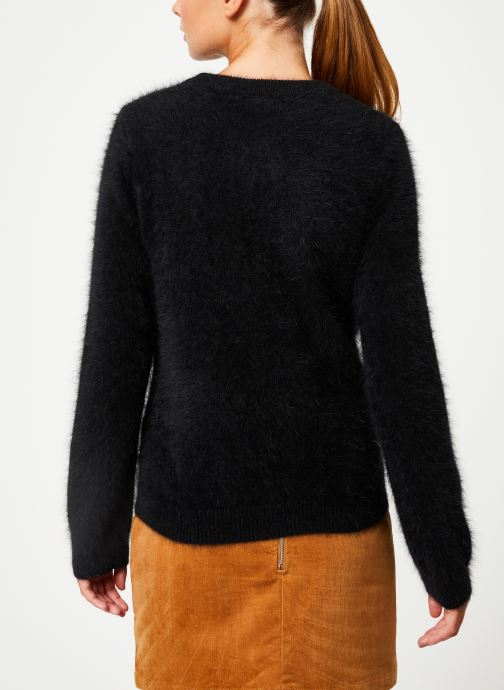 Vêtements Marie Sixtine SWEATER ELI Noir vue portées chaussures