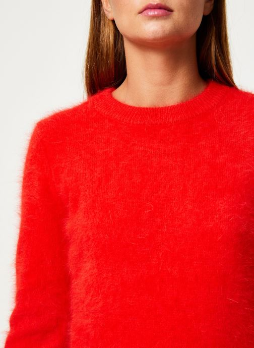 Vêtements Marie Sixtine SWEATER ELI Rouge vue face