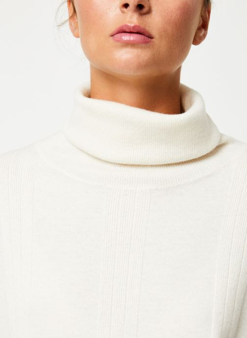 Vêtements Marie Sixtine SWEATER PRUDENCE Blanc vue face