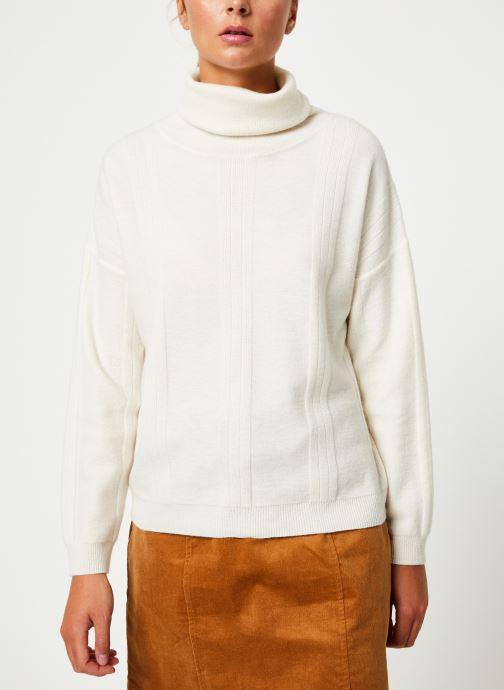 Vêtements Marie Sixtine SWEATER PRUDENCE Blanc vue droite