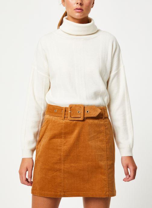 Vêtements Marie Sixtine SWEATER PRUDENCE Blanc vue détail/paire