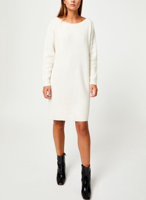 Vêtements Marie Sixtine DRESS SOLENN Blanc vue bas / vue portée sac