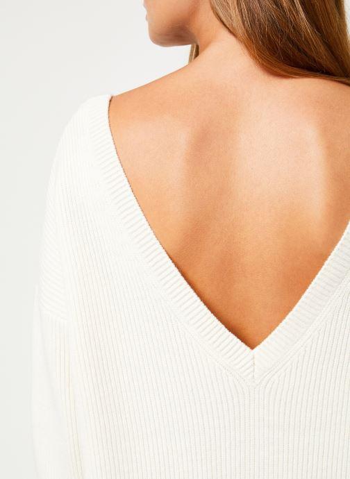 Vêtements Marie Sixtine DRESS SOLENN Blanc vue face