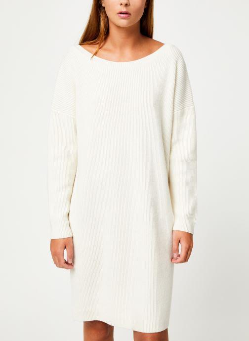 Vêtements Marie Sixtine DRESS SOLENN Blanc vue droite