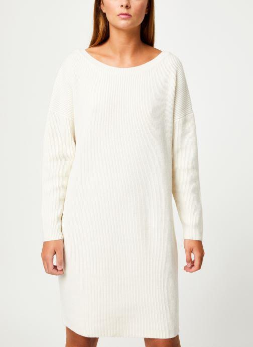 Vêtements Marie Sixtine DRESS SOLENN Blanc vue détail/paire