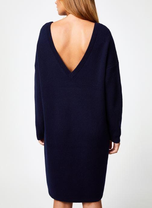 Vêtements Marie Sixtine DRESS SOLENN Bleu vue portées chaussures