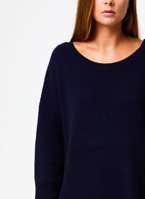 Vêtements Marie Sixtine DRESS SOLENN Bleu vue face