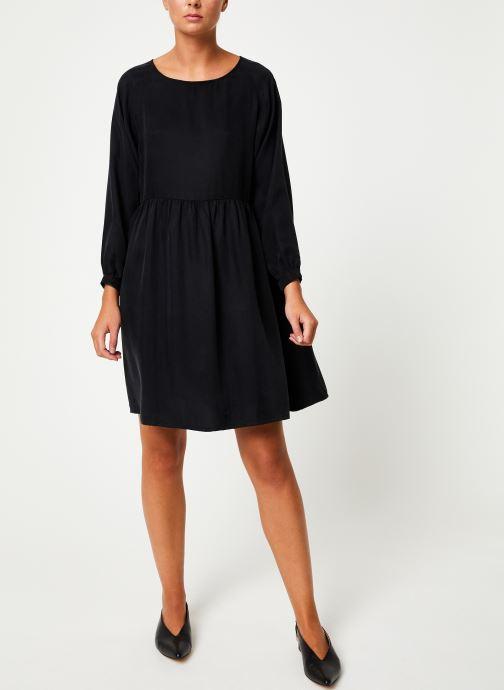 Vêtements Marie Sixtine DRESS BILLIE Noir vue bas / vue portée sac