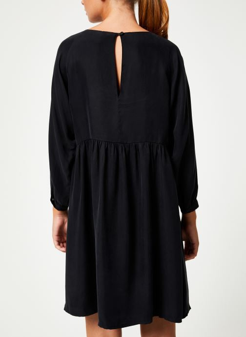 Vêtements Marie Sixtine DRESS BILLIE Noir vue portées chaussures